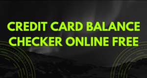 credit card balance checker