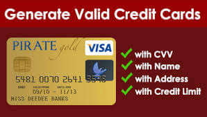 real credit card generator