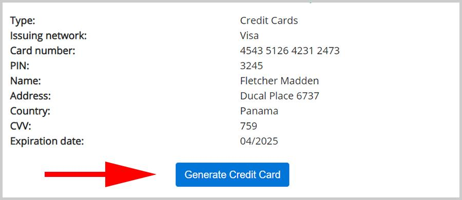 Credit Card Numbers With CVV and Expiration Date 2020